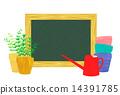 黑板 粉筆板 園藝 14391785