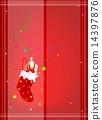聖誕節 聖誕 紅色 14397876