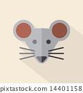 老鼠 鼠标 设计 14401158