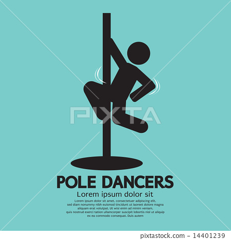Pole Dancers Graphic 14401239