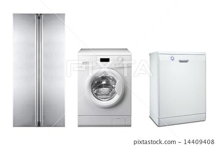 refrigerator, washing machine and dishwasher 14409408