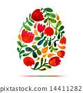 easter, illustration, flower 14411282