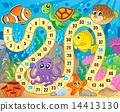 Board game image with underwater theme 1 14413130