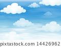Sky and cloud 14426962
