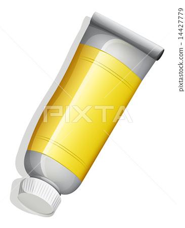A birdeye view of a yellow tube 14427779