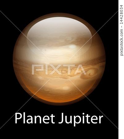 Planet Jupiter 14428034