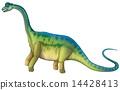 sauropod, dinosaur, illustration 14428413