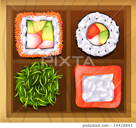 Japanese rice meals 14428843