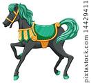 A horse 14429411