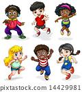 drawing, girls, women 14429981