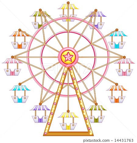 A ferris wheel ride 14431763