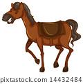 A sketch of a horse 14432484