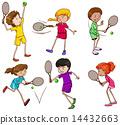 테니스, 오락, 스포츠 14432663
