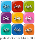 colourful, cycle, icons 14435783
