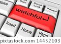 keyboard, keys, watchful 14452103