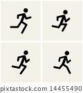 奔跑 跑步 运行 14455490