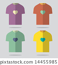 t-shirt,set,design 14455985