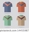 เสื้อยืด,ชุด,ออกแบบ 14455987