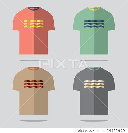 Flat Design T-Shirt Set 14455990