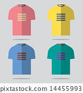 เสื้อยืด,ชุด,ออกแบบ 14455993