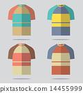 เสื้อยืด,ชุด,ออกแบบ 14455999