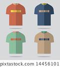 เสื้อยืด,ชุด,ออกแบบ 14456101