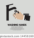 Washing Hands With Faucet 14456160