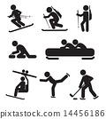 Winter Sport Icon Set 14456186