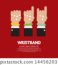 Colorful Wristband Graphic 14456203