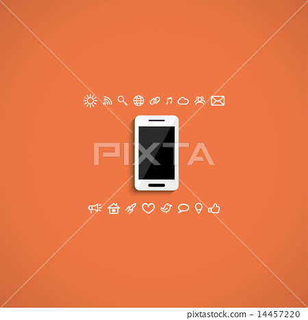 white smartphone 14457220