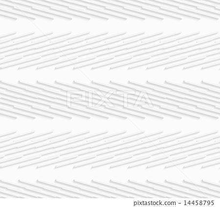 Geometrical pattern with white diagonally striped  14458795