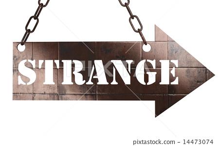 strange word on metal pointer 14473074