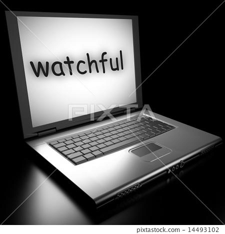Word on laptop 14493102