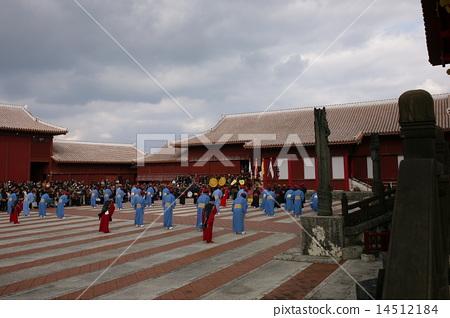 Ritual of the New Year in Shuri Castle, Konoha worship (Nuuhua welfare) 14512184