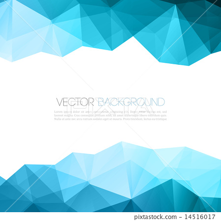 Abstract Colorful Geometric Background Template Brochure