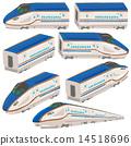 hokuriku, shinkansen, vector 14518696