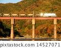 火車 紅葉 黃葉 14527071