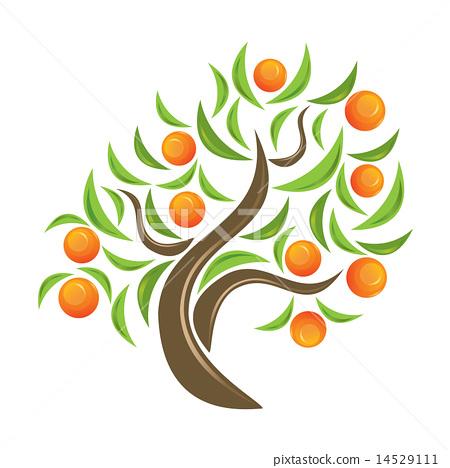orange tree logo wwwpixsharkcom images galleries