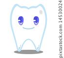 齒輪 卡通人物 牙齒 14530024