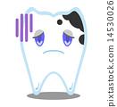 齒輪 齲齒 蛀洞 14530026