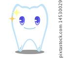 牙齒 齒輪 卡通人物 14530029