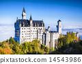 城堡 新天鵝堡 德國 14543986