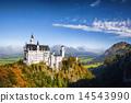 城堡 新天鵝堡 德國 14543990
