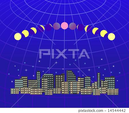 全月蚀城市景观1 14544442