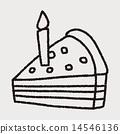 doodle cake 14546136