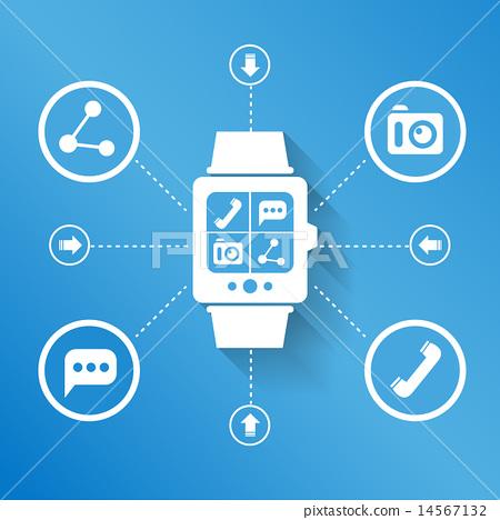 Smart watch for social media 14567132