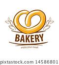 bakery vector pretzel 14586801