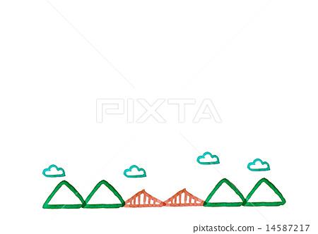 다리와 산 14587217