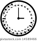 hour, clock, busy 14589466
