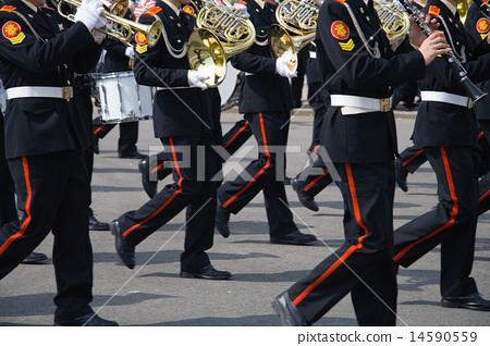 Army brass band 14590559